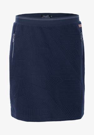 KURZ - Mini skirt - dunkelblau