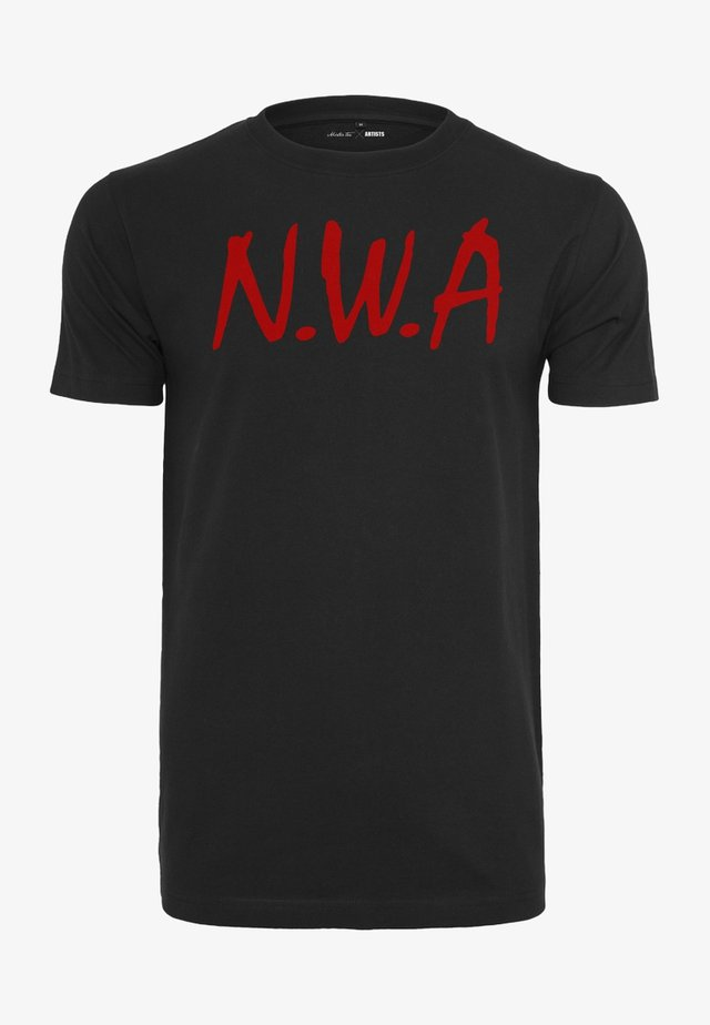 N.W.A - T-shirts print - black