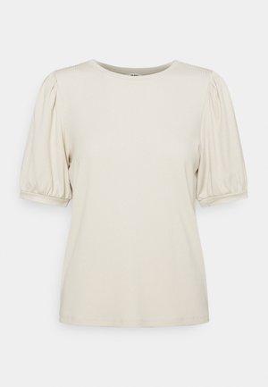 OBJJAMIE - Basic T-shirt - sandshell