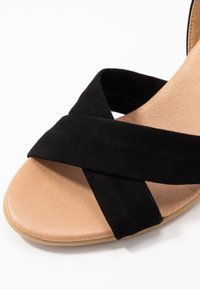 Office Wide Fit - MILLS - Espadrilles - black - 2