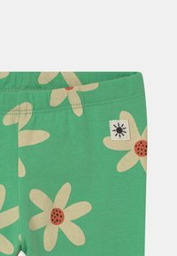 Lindex - FLOWER - Leggings - Trousers - green - 2