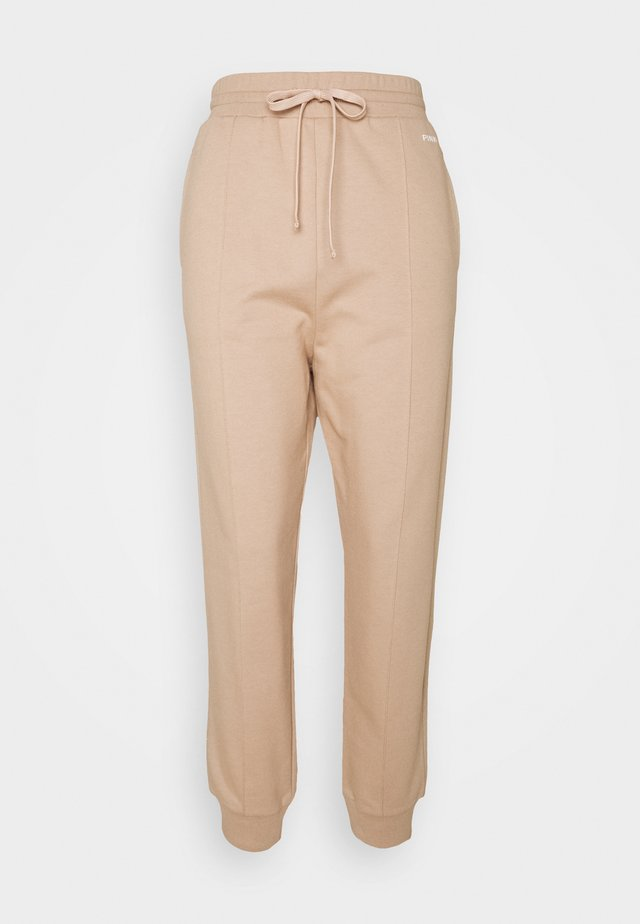 ADDAMS PANTALONE - Pantalon de survêtement - beige  asinello