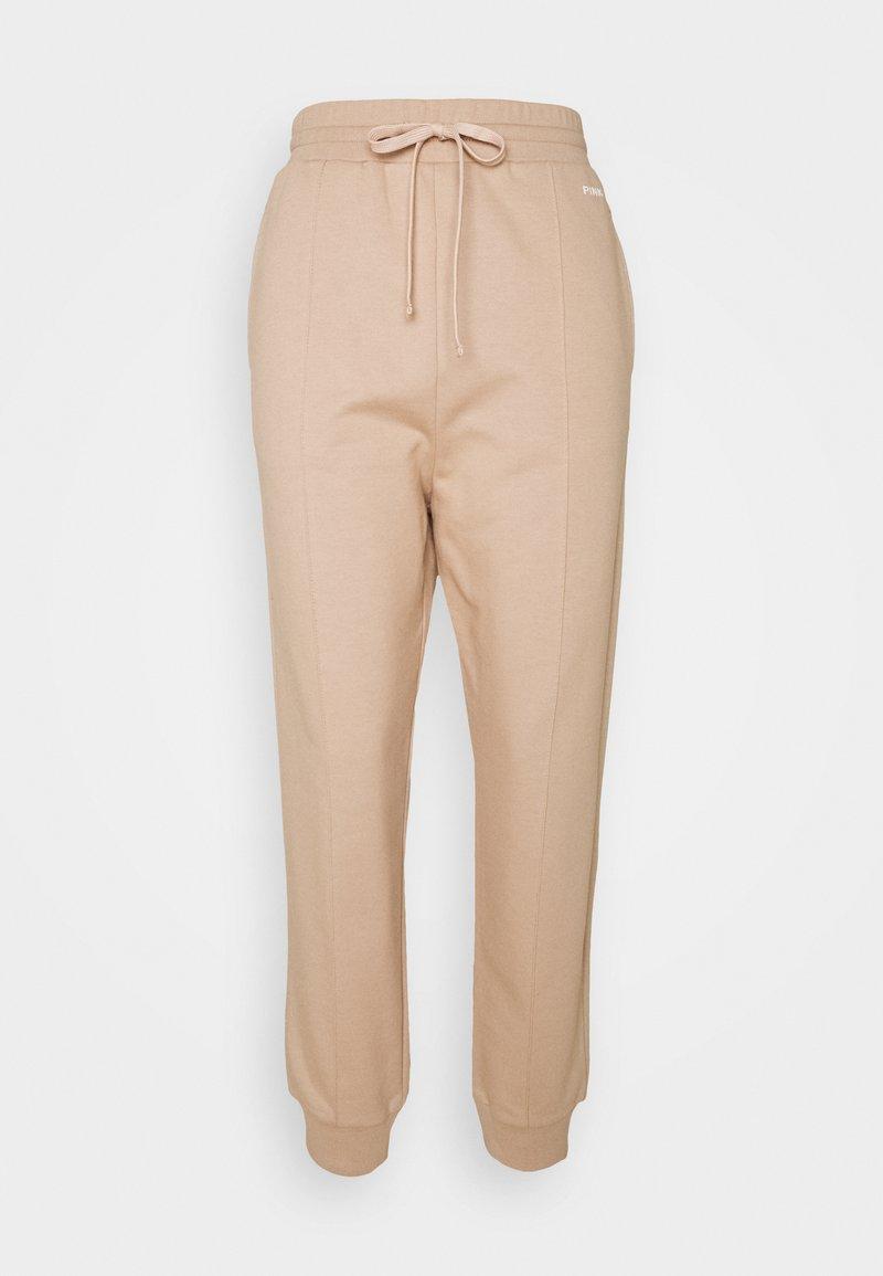 Pinko - ADDAMS PANTALONE - Teplákové kalhoty - beige  asinello