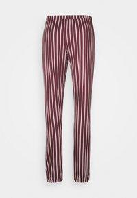 LASCANA - PANTS - Pyjama bottoms - bordeaux - 1