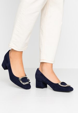 PAULINE - Classic heels - notte/silber