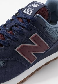 New Balance - 574 - Sneaker low - navy/red - 5