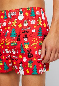 Lousy Livin Underwear - CHRISTMAS NIGHT - Trenýrky - red - 4