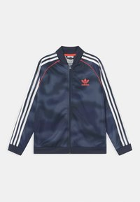 adidas Originals - CAMO SUPERSTAR UNISEX - Training jacket - crew blue/white/solar red - 0