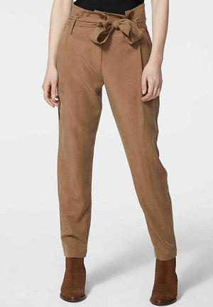 Trousers - noisette