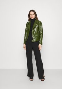 Deadwood - RIVER CACTUS - Faux leather jacket - green - 1