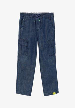 CHARLIE  - Cargo trousers - dark denim