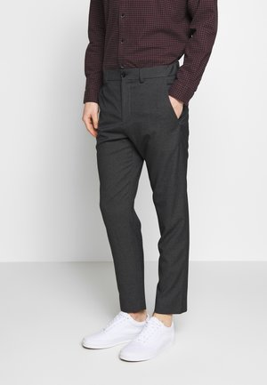 WINTER MELANGE - Trousers - dark grey