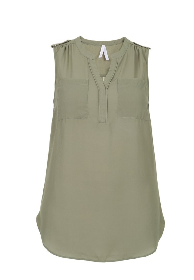 Blouse - light olive