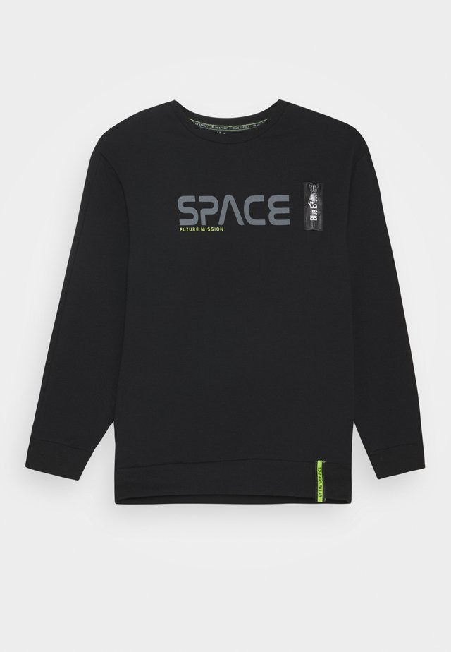 BOYS SPACE - Collegepaita - schwarz reactive