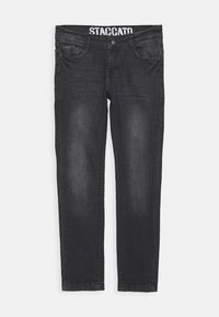 Staccato - SKINNY TEENAGER - Jeans Skinny Fit - black denim - 0