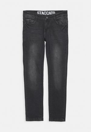 SKINNY TEENAGER - Jeans Skinny Fit - black denim