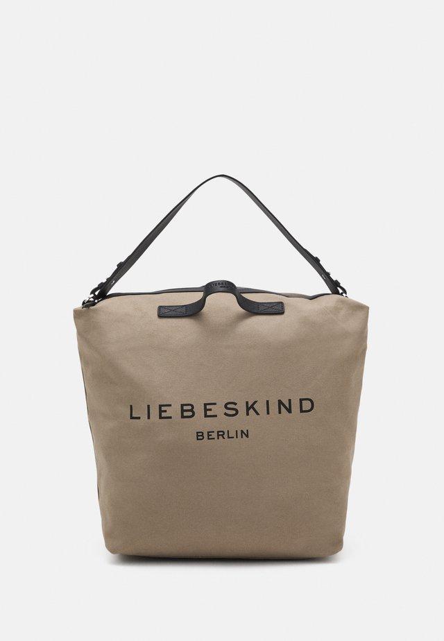 HOBO LARGE - Shopping bag - taupe