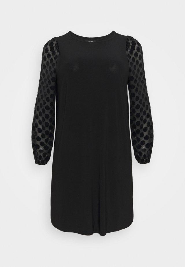 BLACK SPOT DRESS - Freizeitkleid - black