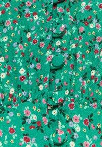 Ghost - SABRINA DRESS - Abito a camicia - green/pink - 2