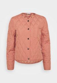 QUILTED INDOOR - Light jacket - coral