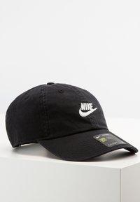 Nike Sportswear - FUTURA WASH UNISEX - Cap - black/white - 0