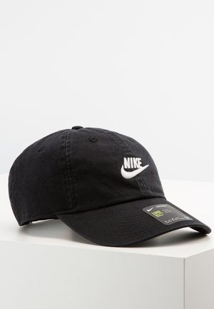 FUTURA WASHED UNISEX - Gorra - black/white