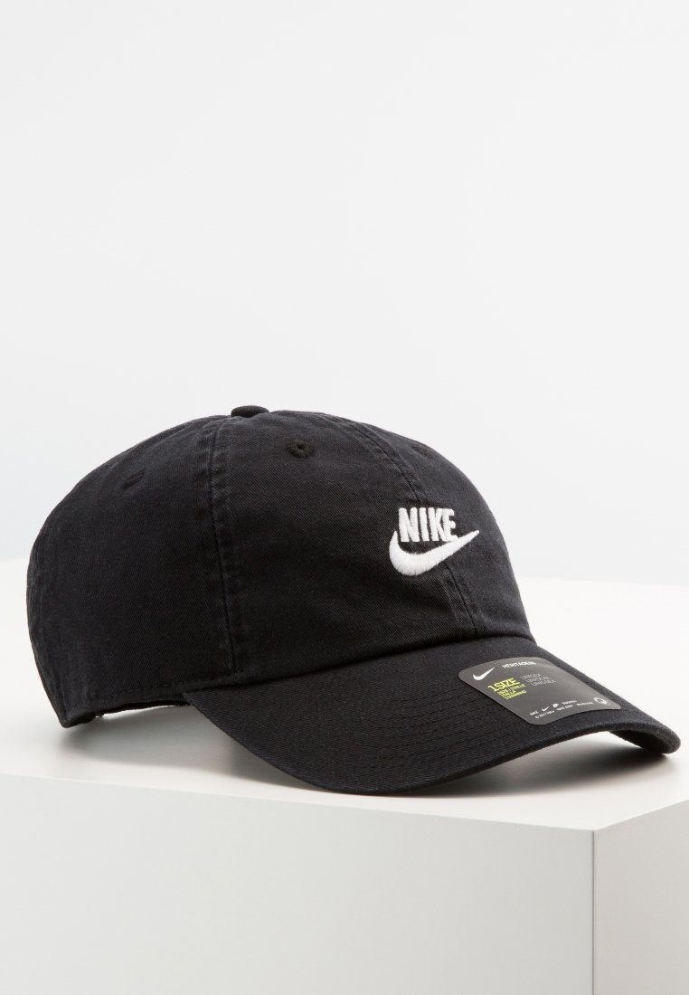 Nike Sportswear - FUTURA WASHED UNISEX - Kšiltovka - black/white