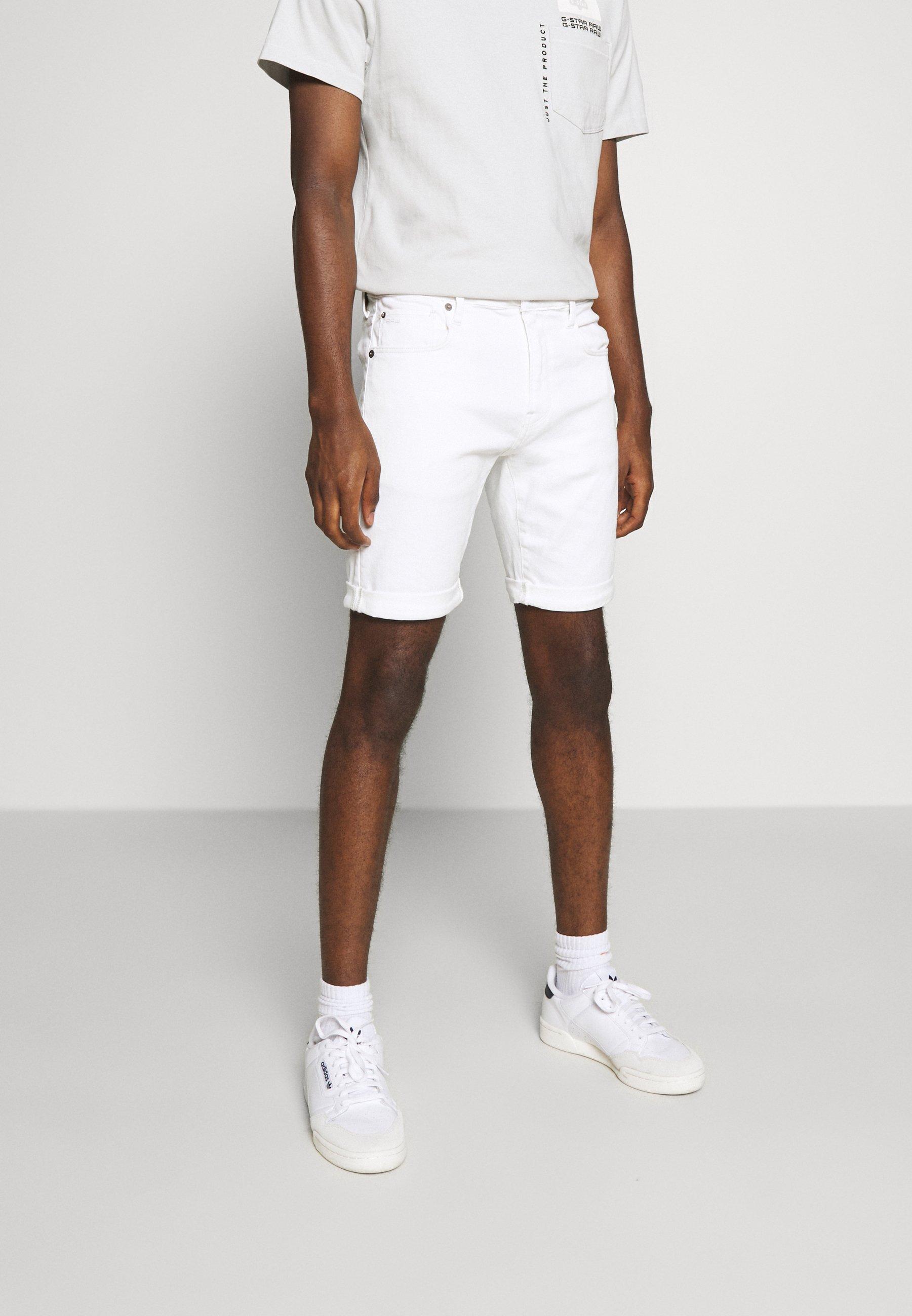 Men 3301 SLIM SHORT - Denim shorts