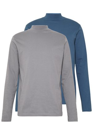 2 PACK  - Long sleeved top - grey