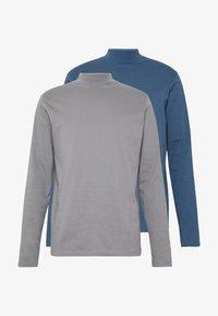 Topman - 2 PACK  - Top sdlouhým rukávem - grey - 4