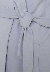 MAMALICIOUS - MLSVEA COATIGAN - Klasický kabát - light blue - 2