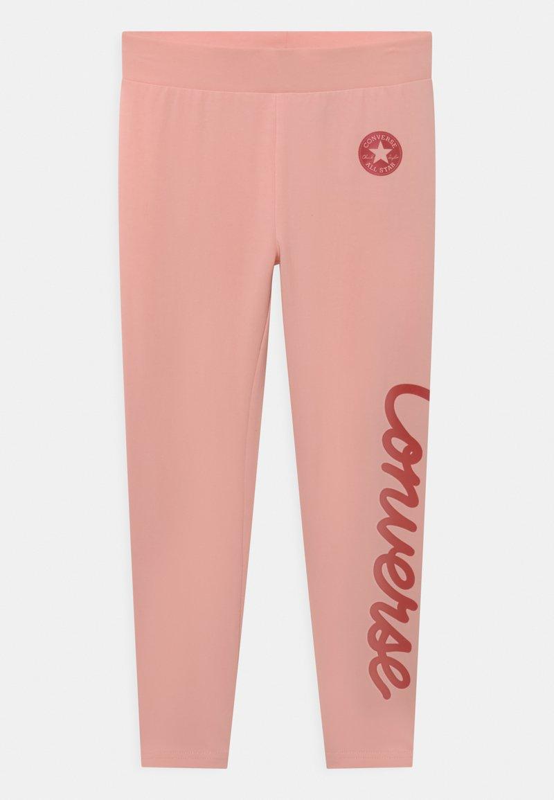 Converse - CHUCK TAYLOR SCRIPT SHINE - Leggings - storm pink