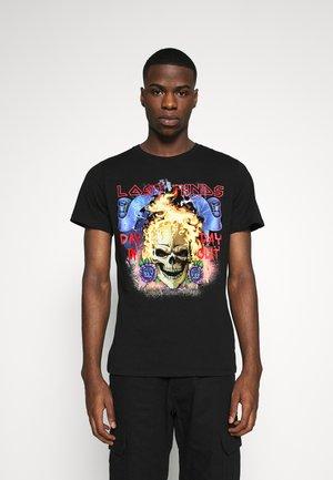 JORLOST TEE CREW NECK - Camiseta estampada - black