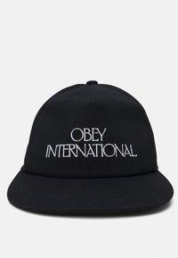 Obey Clothing - PLAYERS CLUB SNAPBACK UNISEX - Kšiltovka - black - 3