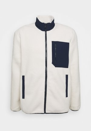 JACKET - Fleece jacket - unbleached white