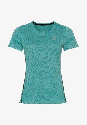 ZEROWEIGHT  - Print T-shirt - light blue