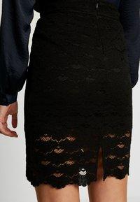 Vila - A-snit nederdel/ A-formede nederdele - black - 4