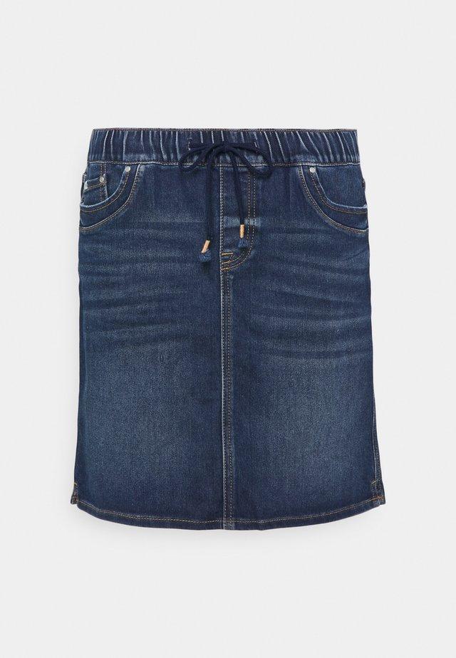 Denim skirt - blue dark wash