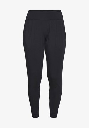 PANTS LONG LOOSE - Tracksuit bottoms - midnight blue