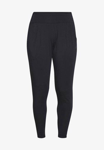 PANTS LONG LOOSE - Pantaloni sportivi - midnight blue