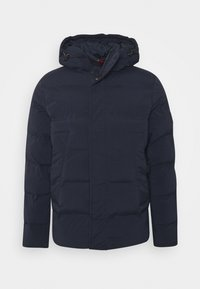 HOODED STRETCH - Vinterjacka - blue