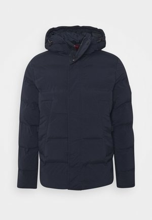 HOODED STRETCH - Winter jacket - blue