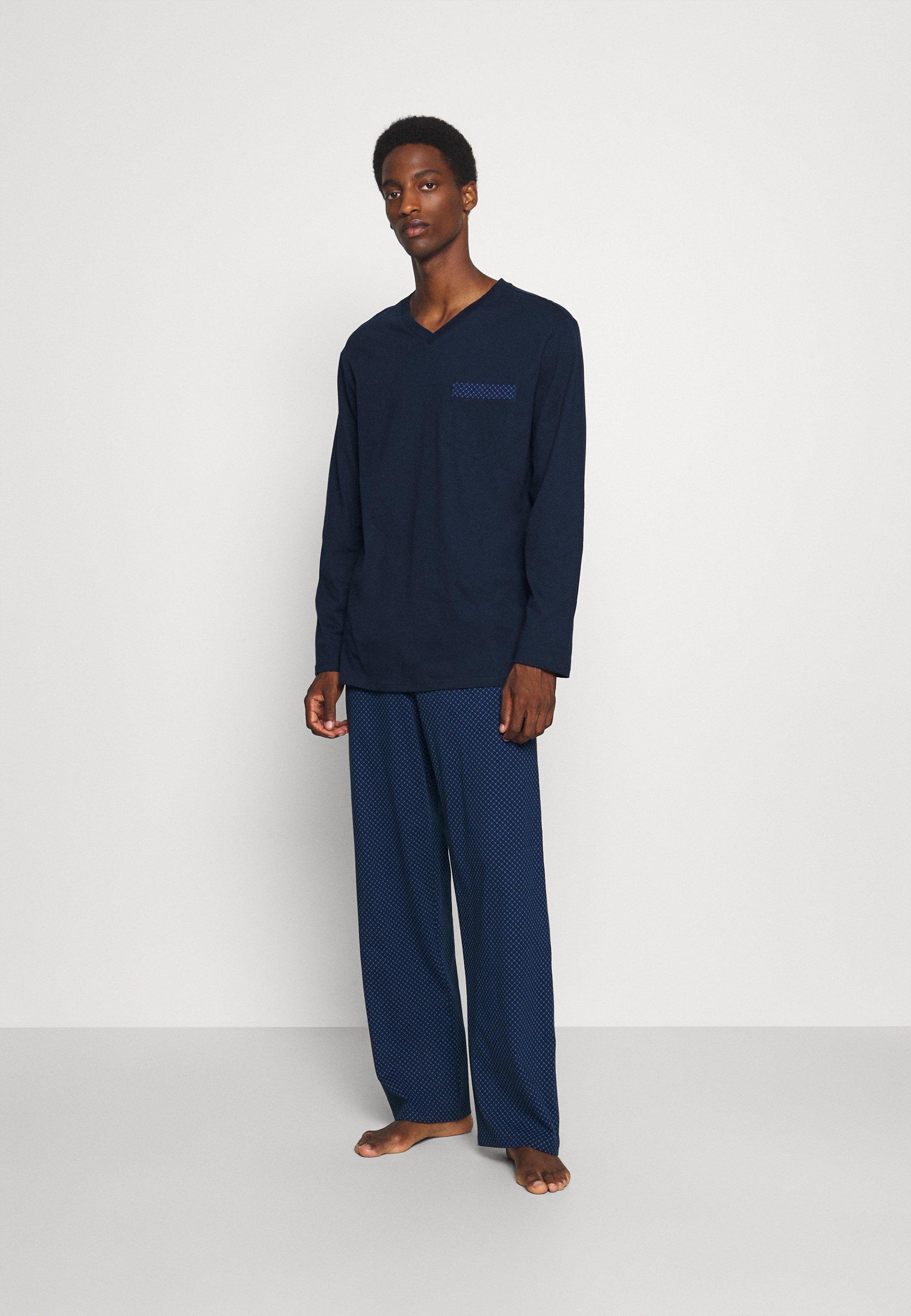 Herrer SCHLAFANZUG LANG - Pyjamaser