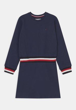 GLOBAL STRIPE DRESS - Jersey dress - twilight navy