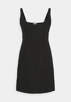 LIBBY STRAPPY MINI DRESS - Shift dress - black