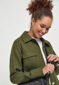 Next - Short coat - khaki - 3