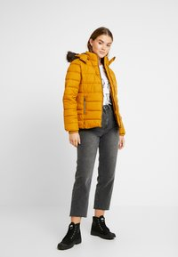 b.young - BOMINA JACKET - Light jacket - golden oak - 1