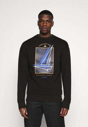 BOAT CREW - Sweatshirt - black