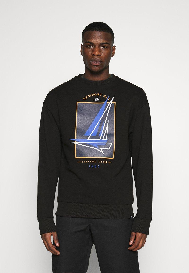 Newport Bay Sailing Club - BOAT CREW - Sweatshirt - black