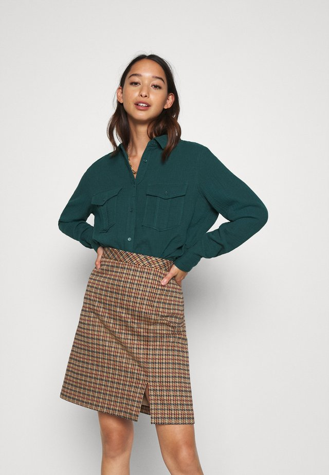 NMLILLA  - Button-down blouse - ponderosa pine